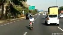 Ini Lho Alasan Emak-emak Terobos Jalan Tol Gunungsari Surabaya