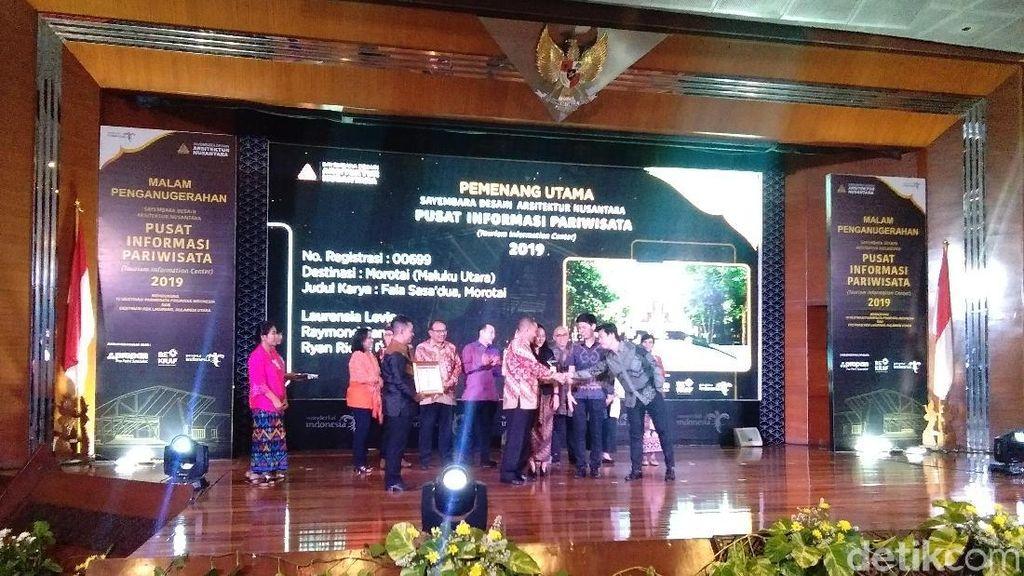 Sayembara Desain Arsitektur Nusantara, Morotai Juaranya!