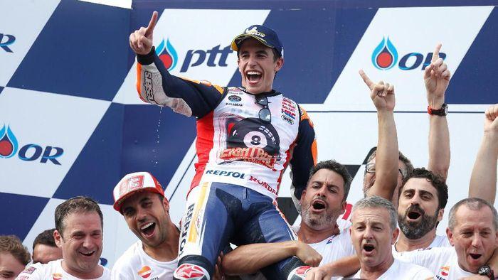 Marc Marquez masih ingin meraih kesuksesan bersama tim Repsol Honda (Foto: Soe Zeya Tun/REUTERS)