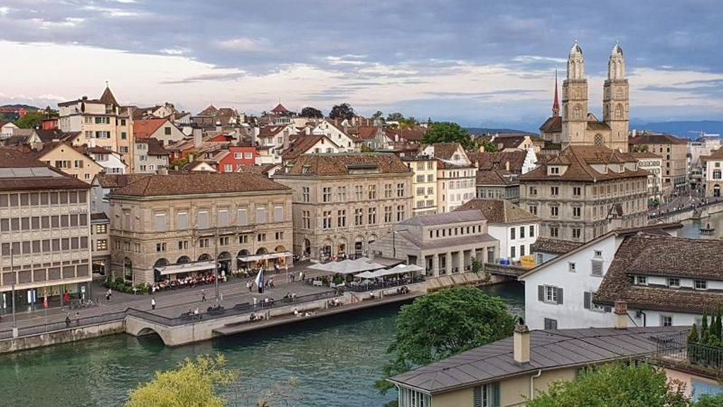 Sungguh Indahnya Kota Zurich di Swiss