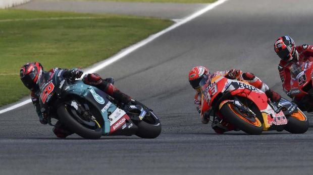 Marc Marquez tak mau hanya finis di posisi kedua meski hal itu sudah mengamankan gelar juara dunia.