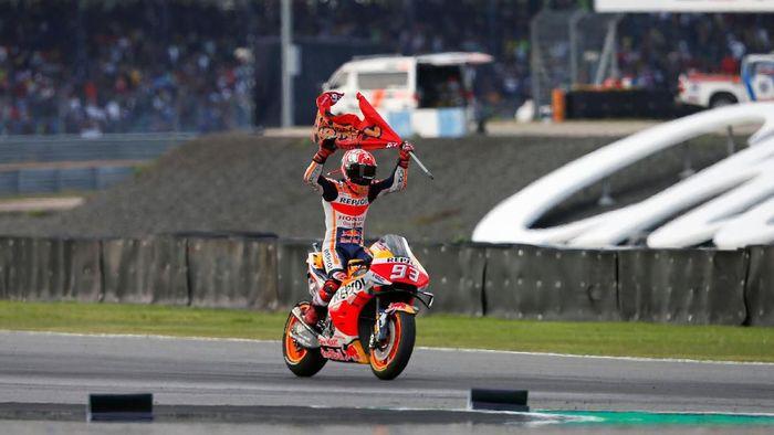 Marc Marquez juara dunia MotoGP 2019. (Foto: REUTERS/Soe Zeya Tun)