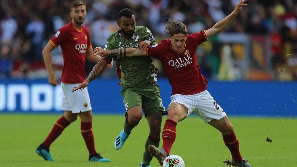 Roma Ditahan Cagliari 1-1