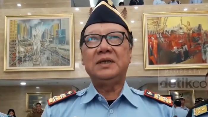 Plt Menteri Hukum dan HAM Tjahjo Kumolo. (Foto: 20detik)