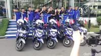 Dua pekan lamanya sejak 27 September hingga 9 Oktober 2019 mendatang, touring antarnegara itu dilakukan. Diawali dengan touring rombongan lokal start dari lima titik di Ho Chi Minh, Vietnam. Bergerak keluar dari Vietnam, 5 orang bikers profesional yang dipilih Yamaha Motor Vietnam menjalani touring di 5 negara tetangga mengendarai motor-motor Yamaha berteknologi Blue Core. Kelima bikers itu adalah Ngo Thiet Dai Nhan, Nguyen Phuc Vien, Pham Viet Anh, Dang Kim Ho, Nguyen Quang Thinh.