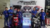 Cara itu digunakan untuk melangsungkan event Blue Core 5 Year Celebration melintasi 5 negara di Asia Tenggara yang diusung oleh Yamaha Motor Vietnam (YMVN).