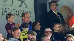 Viral Momen Pangeran George Kegirangan Nonton Bola Liga Inggris