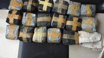 BNN Tangkap Penyelundup 38 Kg Sabu di Kaltim, Salah Satunya Seorang PNS
