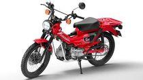 Honda Bakal Luncurkan Motor Bebek Klasik Versi Offroad