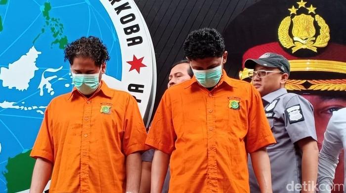 Foto: Muhammad Basurrah (kiri berbaju oranye) (Samsudhuha Wildansyah/detikcom)