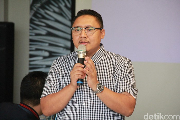 Denny Abidin. Foto: Agus Tri Haryanto/inet