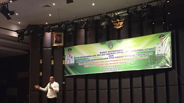 Gubernur Sumatera Utara Edy Rahmayadi/Foto: Khairul Ikhwan Damanik/detikcom