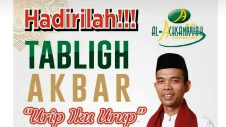 Tablig Akbar Ustaz Abdul Somad di Kudus Besok Dibatalkan