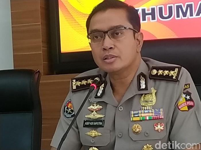 Kabag Penum Divisi Humas Polri Kombes Asep Adisaputra (Audrey-detikcom)