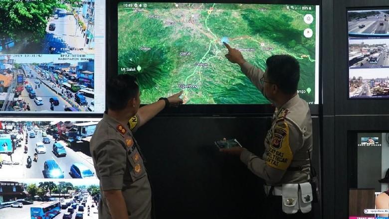 Sistem 2-1 Puncak Diuji Coba 27 Oktober, Pengendara Diimbau Atur Perjalanan