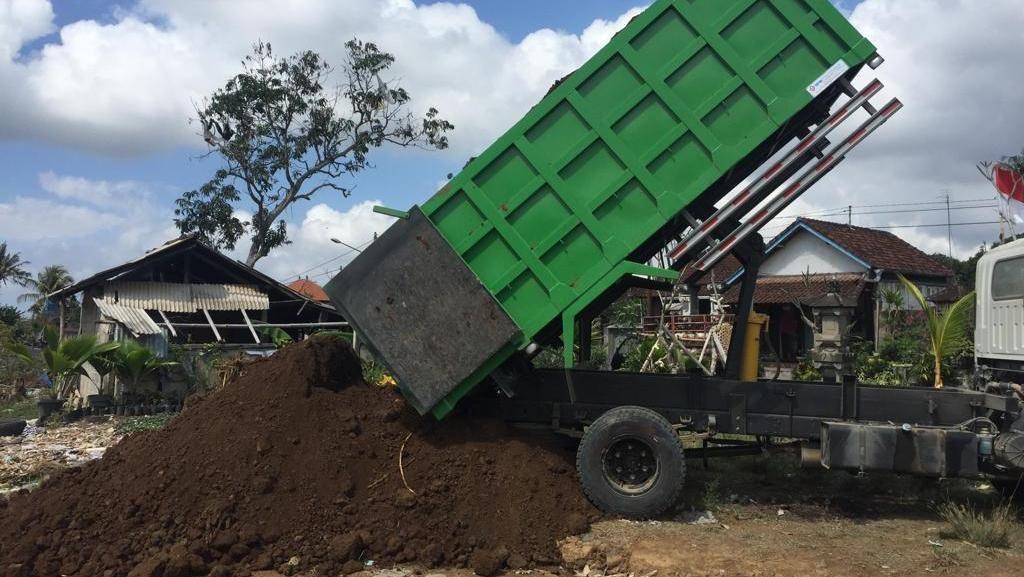 Pemkab Gianyar Sulap Bekas Pembuangan Sampah Liar Jadi Hutan Kota