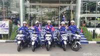 Selebrasi level internasional itu diadakan guna merayakan 5 tahun kehadiran teknologi Blue Core yang menjadikan motor lebih Efisien, Bertenaga dan Handal. Model motor Yamaha berteknologi Blue Core sukses dipasarkan dan jadi pilihan utama konsumen.