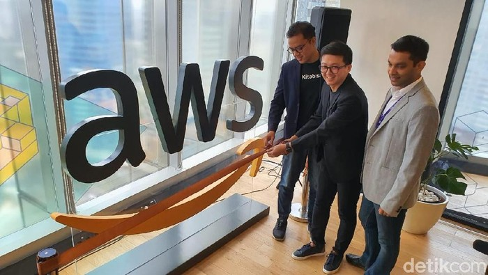 Amazon buka AWS Pop-up Loft (Adi Fida Rahman/detikcom)