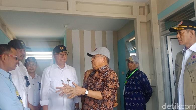 Ke Palu, JK Cek Pembangunan Hunian Tetap untuk Korban Gempa dan Likuifaksi