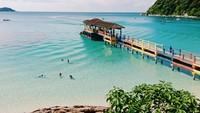 Pulau Perhentian punya air yang jernih. Traveler yang snorkling bisa melihat dengan jelas kehidupan bawah laut.(iStock)