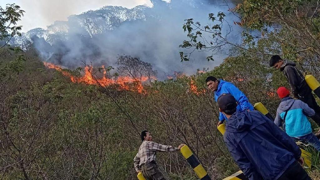 Gunung di Garut Rawan Terbakar, Pendaki Jangan Sembrono Nyalakan Api