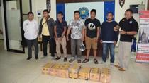 BNN Gagalkan Penyelundupan 38 Kg Sabu di Kalimantan, 4 Orang Ditangkap