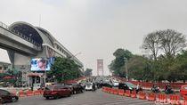 Karhutla Masih Terjadi, Kabut Asap Selimuti Palembang Sore dan Malam Hari