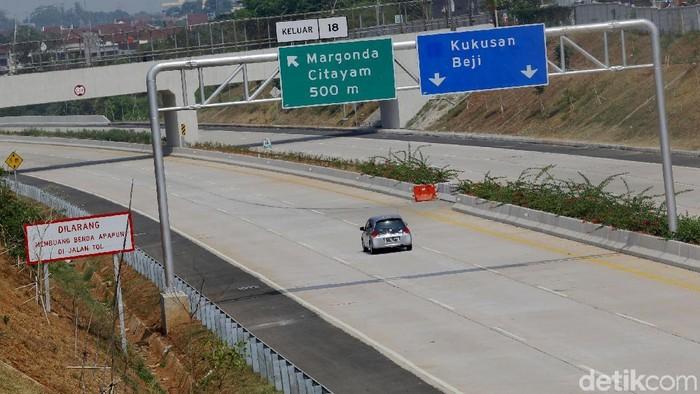 Tol Cinere-Jagorawi (Cijago) Seksi II akhirnya dibuka. Jalan tol tersebut resmi dibuka secara fungsional. Seperti apa penampakannya?