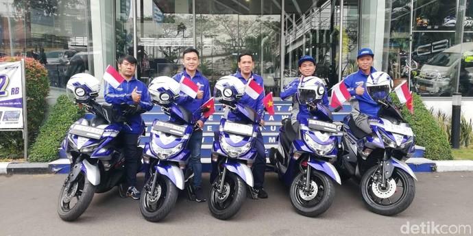 5 Bikers Yamaha Touring 5 Negara