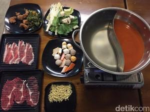 Sogogi Shabu: Makan Shabu-shabu Daging Short Plate dan Rib Eye Rp 89.000