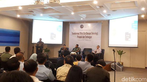 TNI Disebut Perlu Waspada Perang Masa Depan Berbasis Teknologi