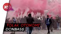 Aksi Demo Ribuan Warga Ukraina Menentang Pemerintah