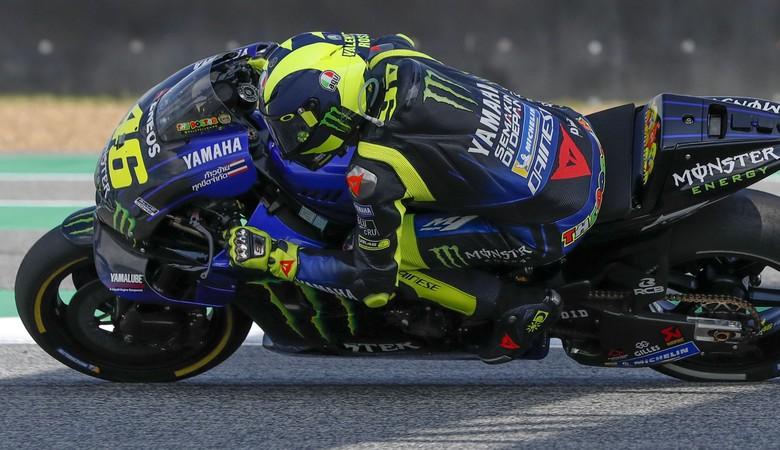 Valentino Rossi. Foto: AP Photo/Gemunu Amarasinghe
