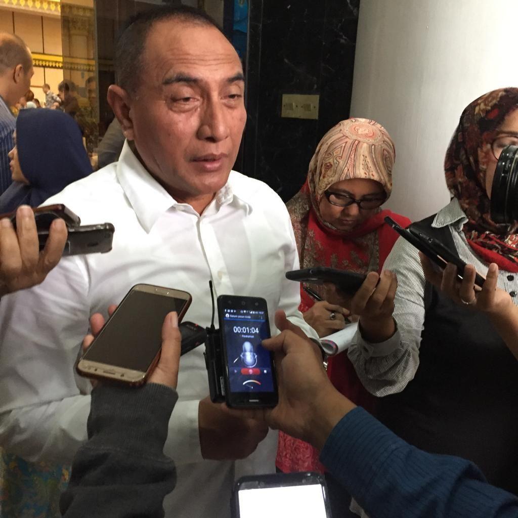 Gubernur Edy Rahmayadi Soal Bom Medan: Penyakitnya Negara yang akan Maju