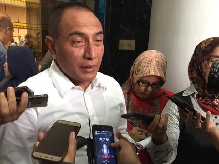 Foto: Khairul Ikhwan Damanik/Gubernur Sumut Edy Rahmayadi