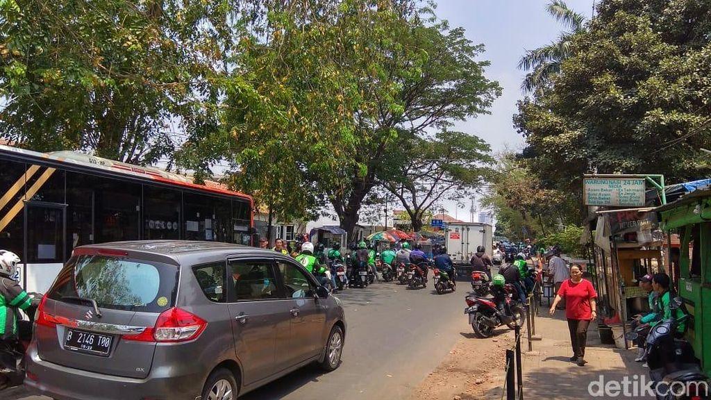 Kondisi Jalan Akses Stasiun Manggarai yang Bakal Gantikan Gambir