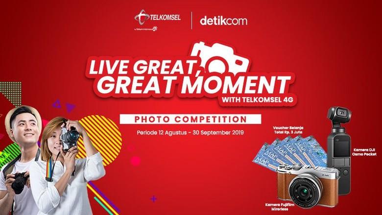 Selamat! Ini Dia Pemenang Telkomsel 4G LTE Photo Competition