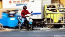 Duh, Demi Putar Balik Pemotor Nekat Hajar Pembatas Jalan