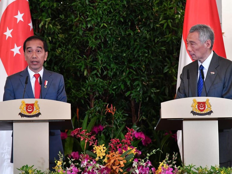 Jokowi: Singapura Pahami Keinginan RI Awasi Wilayah Udara Sendiri