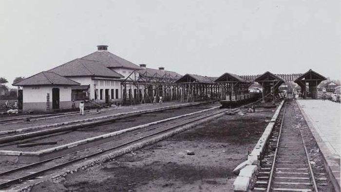 Foto: Stasiun Manggarai tempo doeloe/Dok KAi Heritage