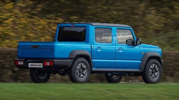 Suzuki Jimny Jadi Double Cabin, Keren Tidak?