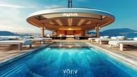 Sistem teknologi utama Aqua terletak pada dua tangki vakum isolasi 28 ton yang harus disimpan pada suhu serendah -253 C. Hidrogen cair diubah menjadi energi listrik oleh sel bahan bakar membran pertukaran proton (PEM) (Sinot Yacht Architecture & Design 2019/CNN)