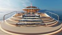 Tak hanya inovatif tetapi Aqua juga cantik dalam desainnya (Sinot Yacht Architecture & Design 2019/CNN)