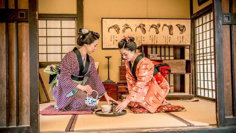 Ilustrasi Orang Jepang