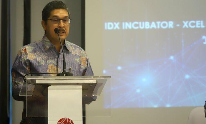 Bersama dengan PT Envy Technologies Indonesia Tbk (ENVY) dan XCel Asia Inc mereka mengembangkan IDX Incubator, program inkubasi perusahaan startup atau rintisan yang digagas BEI. Foto: dok. Envy