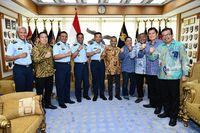 PWI Pusat Dan TNI AU Siap Jalin Kerja Sama