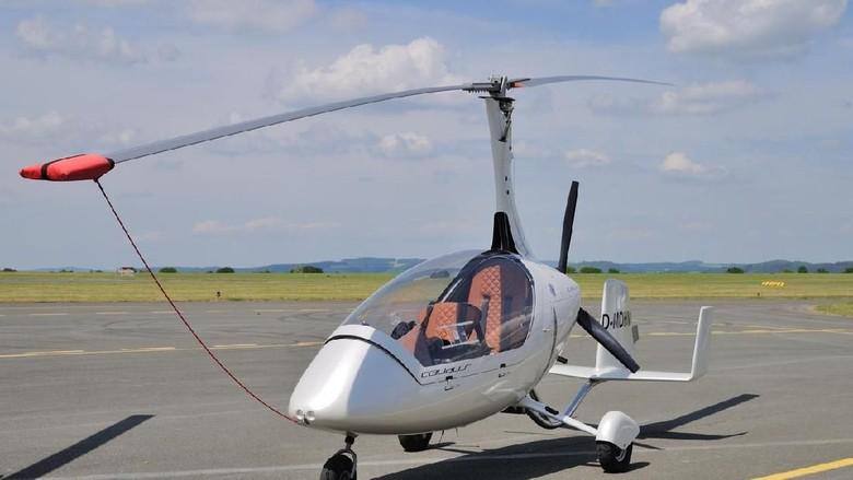 Foto: Ilustrasi gyrocopter (iStock)