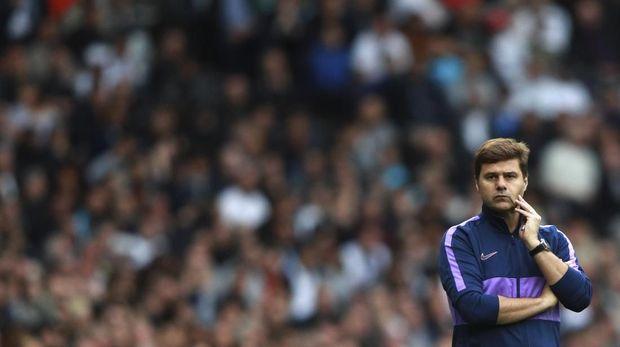 Mauricio Pochettino belum pernah memberikan gelar juara untuk Tottenham.