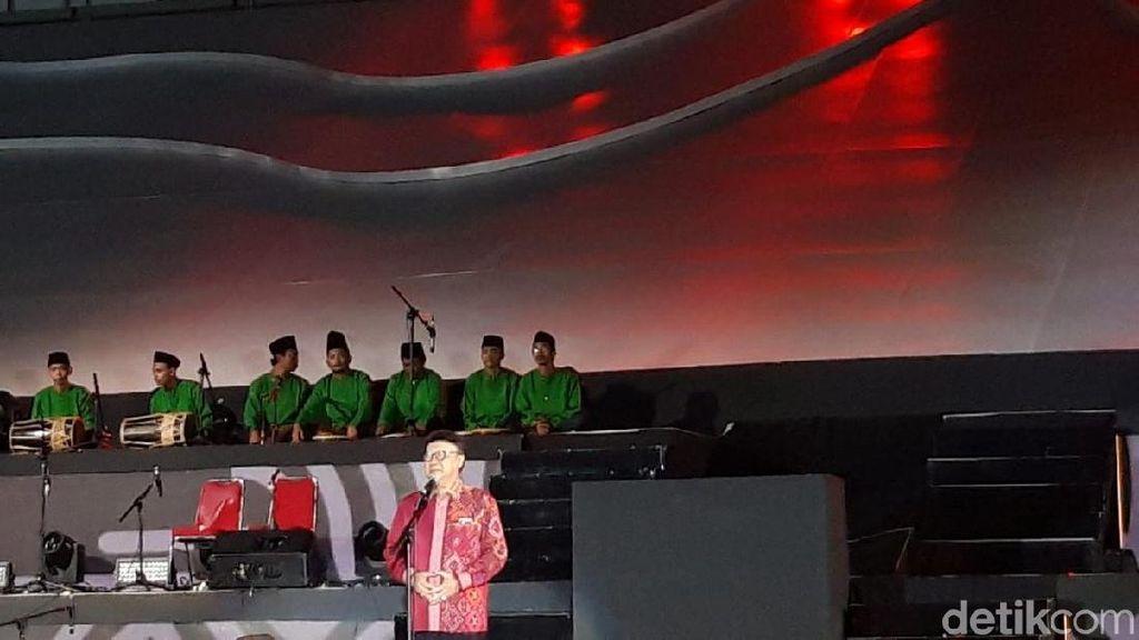 Ingatkan agar Budaya Tak Diklaim Negara Lain, Tjahjo Baca Puisi Sukarno