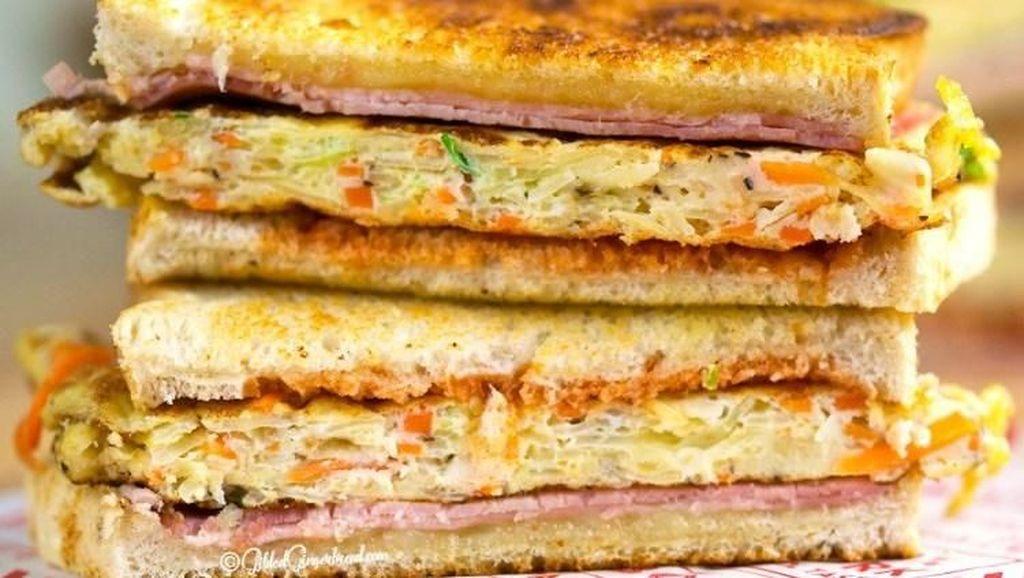 Yuk, Bikin Gilgeori Toast, Roti Panggang Korea Buat Sarapan!